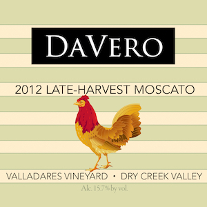 2012 Estate Late Harvest Moscato - Dry