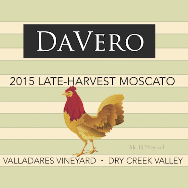 2015 Estate Late Harvest Moscato